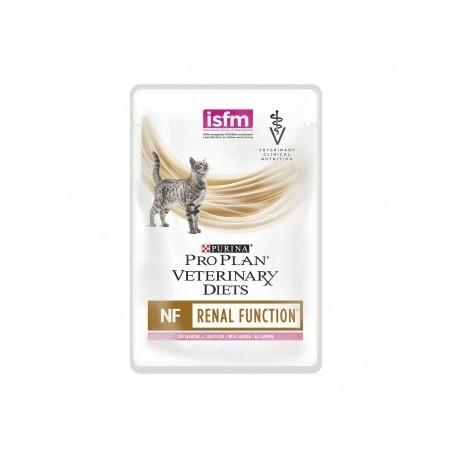 Pro Plan vet Feline NF ST/OX Renal Function pouch, Диетический влажный корм при почечной недостаточности, лосось, пауч85гр.