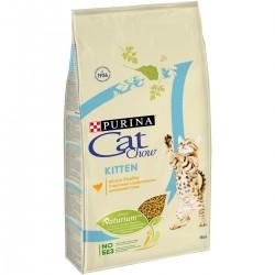 Cat Chow Kitten, Кэт Чау корм для котят с курицей, уп. 400 гр