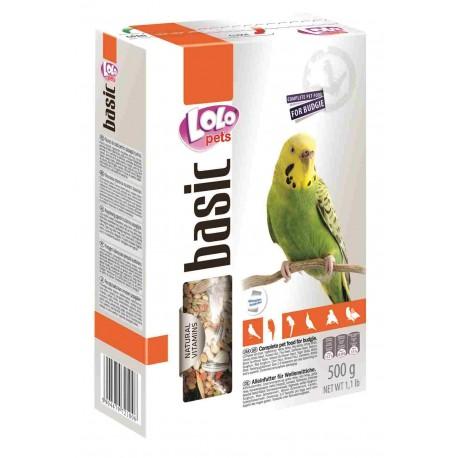 Ло-Ло Петс корм для волнистых попугаев 500г