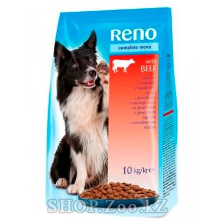 Reno сухой корм для собак из мяса говядины и птицы 10кг