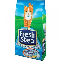 Fresh Step Фреш Степ впитывающий наполнитель для кошачьего туалета, 9,52 кг