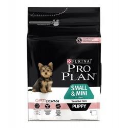Proplan для щенков мелких пород с чувств. пищеварением, уп. 3 кг