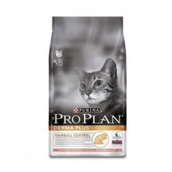 Pro Plan Derma Plus, Про План Дэрма Плюс с лососем для взрослых кошек с кожной аллергией, уп. 10кг.