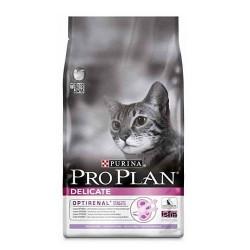 PRO PLAN DELICATE, Про План Деликейт, для кошек с чувствительным пищеварением, уп. 1,5кг