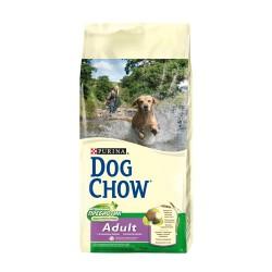 Dog Chow Дог Чау для взрослых собак с ягненком и рисом, уп. 14кг