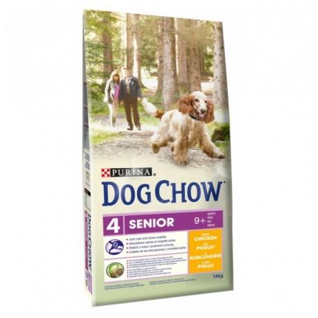 Dog Chow Дог Чау для собак старше 9 лет, уп. 14кг